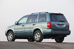 Test Drive: 2005 Honda Pilot  car test drives honda