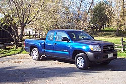 2005 Toyota Tacoma 4X2 Access Cab, 4-cylinder