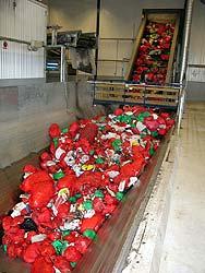 municipal waste separation plant