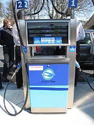 A typical Biogas pump