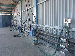 refueling site for public transit busses