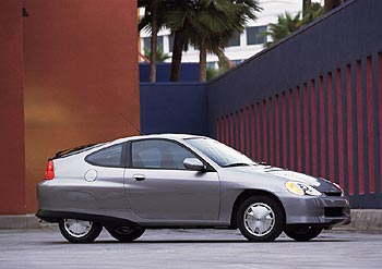 Used Vehicle Review: Honda Insight, 2000 2003  honda