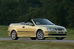 2005 Saab 9-3 convertible