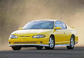 Test Drive: 2005 Chevrolet Monte Carlo SS  chevrolet car test drives