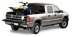 2005 GMC Sierra 2500 HD Crew Cab with Bed Extender