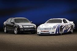 2006 Ford Fusion and 2006 NASCAR Ford Fusion