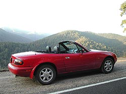 Feature: Mazdas little Miata finds its place in history  mazda car history and auto shows