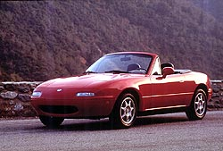 Feature: Mazdas little Miata finds its place in history  car history and auto shows