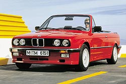 BMW 3 Series convertible, 1987