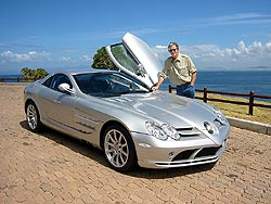 Tony and the SLR McLaren