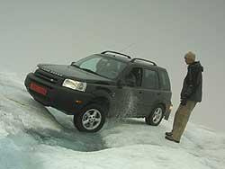 Land Rover Freelander, Iceland