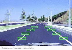 Nissan Lane Departure Warning System