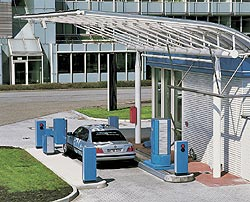 Munich airport hydrogen filling station