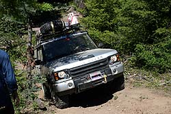 Land Rover Experience Tour, British Columbia