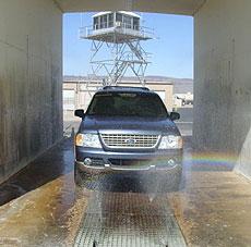 Ford salt spray booth