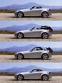 Mercedes-Benz SLK varioroof