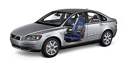 2005 Volvo S40 WHIPS system