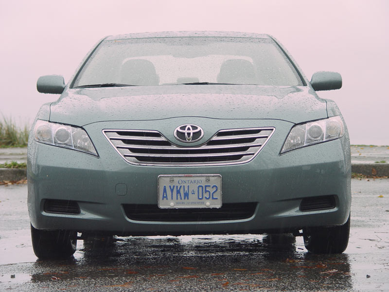 Toyota Camry Hybrid Trunk. Test Drive: 2007 Toyota Camry