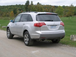 First Drive: 2007 Acura MDX luxury cars acura first drives