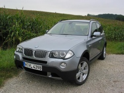 First Drive: 2007 BMW X3 3.0si luxury cars first drives bmw