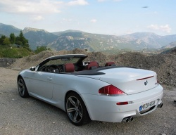 First Drive: 2007 BMW M6 Cabriolet luxury cars first drives bmw