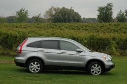 First Drive: 2007 Honda CR V honda first drives