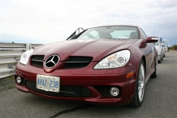 First Drive: 2007 Mercedes Benz SLK55 AMG mercedes benz luxury cars first drives