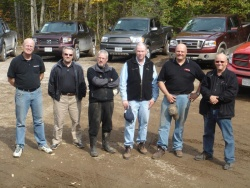 Canadian Truck King Challenge judges
