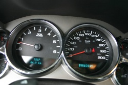 Pure Pickup gauges