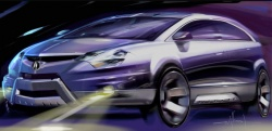 Acura RDX design sketch