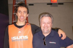 Steve Nash and Paul Williams quickly become firm friends