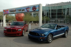 2007 Ford Shelby GT500 and 2006 Dodge Charger SRT-8