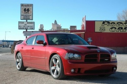 Charger SRT-8 in Seligman, Arizona