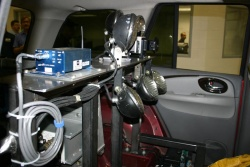 Lights and equipment replace the Rainier's rear seat