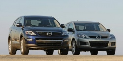 2007 Mazda CX-9 (left, with CX-7)