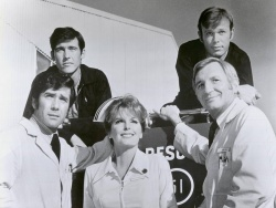 Robert Fuller, Randolph Mantooth, Julie London, Kevin Tighe, Bobby Troup