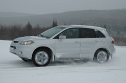 Testing Acura's Super-Handling all-wheel drive system