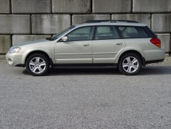 test drive 2007 subaru outback 3 0r premier edition. Black Bedroom Furniture Sets. Home Design Ideas