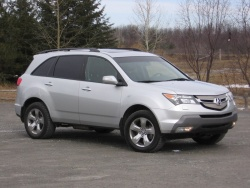 Acura  Review on Test Drive  2007 Acura Mdx Elite Acura