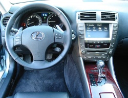 Test Drive: 2007 Lexus IS 350 car test drives luxury cars lexus