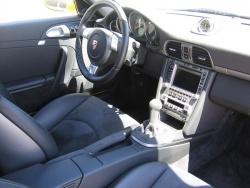 Interior of the Porsche 911 GT3