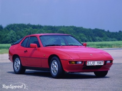Porsche 924; photo courtesy of TopSpeed.com