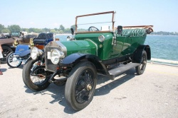 1912 Wolseley 6-cylinder is believed to be the first sold in the British company's Toronto depot