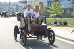 1903 Ford Model A, owned by Dennis and Stephanie Huron of Port Perry, Ont, is the world\'s oldest Ford still in its original family