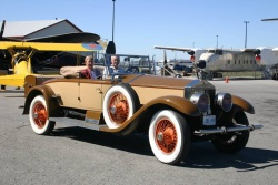 1925 Ghost belonging to tour co-organizers Bob and Nancie Thompson of Port Elgin, Ont