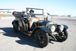 1912 Ghost owned by the Petersen Museum and driven by Alan and Victoria Campbell of Los Angeles