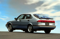 1998 Saab 9-3 five-door