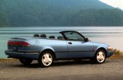 1996 Saab 900 SE convertible