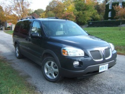 2007 Minivan Challenge: 2008 Pontiac Montana SV6, Week Two pontiac car comparisons