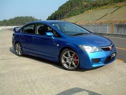 Civic hybrid race car